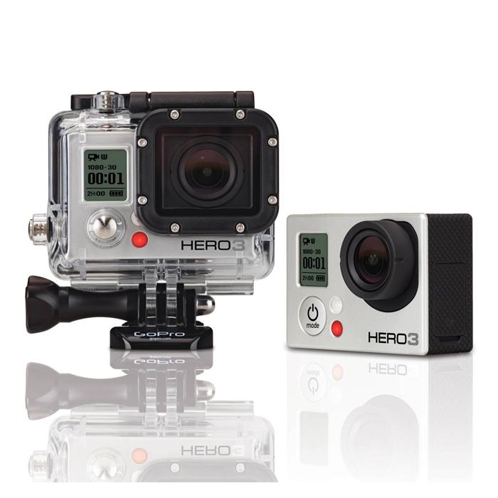 Harga dan Spesifikasi Kamera GoPro Hero 3+ Silver Edition