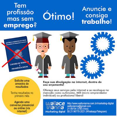 Marketing digital freelancer autônomo Rio Janeiro RJ Wallace Vianna