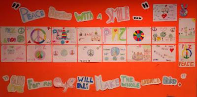 """""""Día escolar de la no-violencia y la paz"""" 6A"""