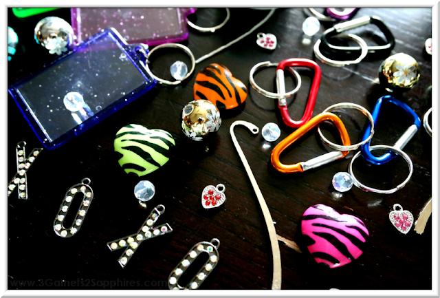 Back-to-School Craft Ideas  |  3 Garnets & 2 Sapphires