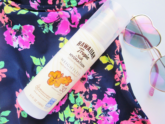 Hawaiian Tropic Silk Hydration Lotion Sunscreen Review