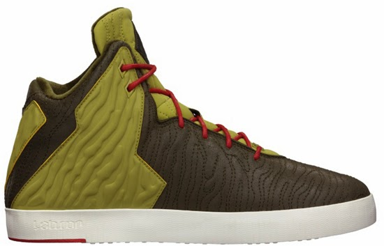 factory authentic 5ac3d 550b0 This Nike LeBron XI NSW Lifestyle comes in a dark loden, dark loden,  parachute gold and university red colorway. Known as the