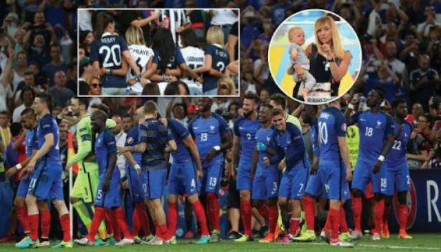 """زوجة لاعب المنتخب الفرنسي """"الخائن"""" تفجر قنبلة! قبل النهائي الذي خسرت فيه فرنسا امس ....لم يتوقع أحد هذه الاعترافات في مثل هذا الوقت الحساس"""