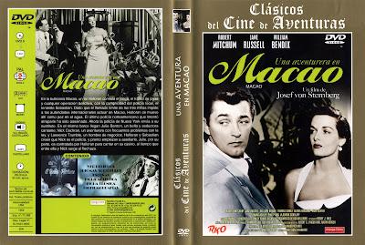 Una aventurera en Macao | 1952 | Macao | Dvd Cover. Carátula