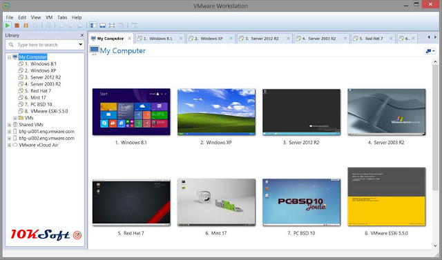 VMware Workstation Pro 12.5.7 Latest Version Free Download