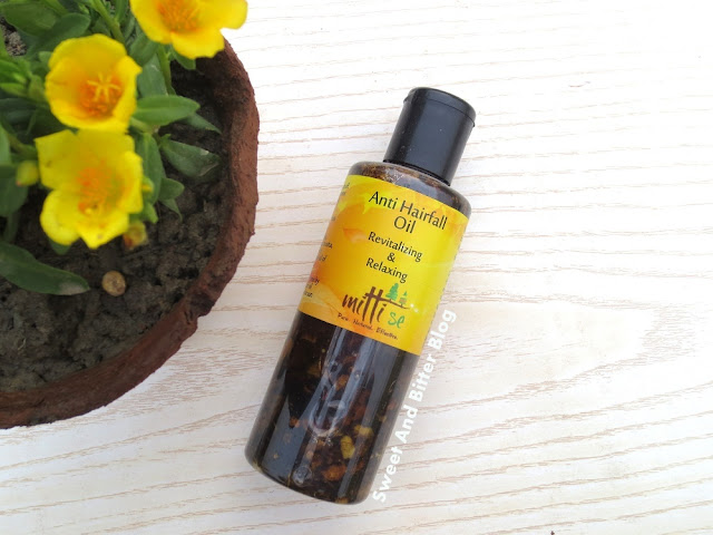 Herb Infused Mitti Se Anti Hairfall Oil Revitalizing & Relaxing