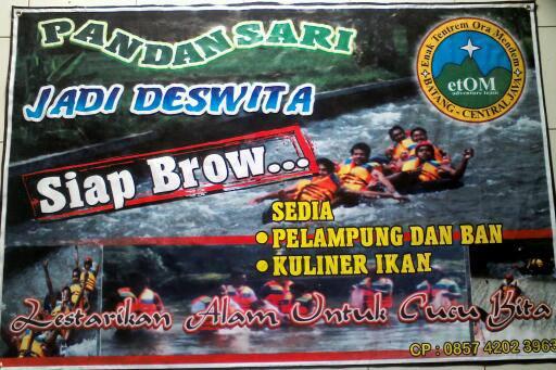 Arung Jeram Kali Kupang Pandansari