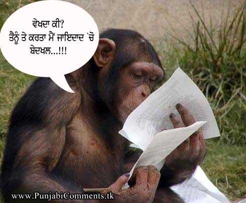 Pic Images Orkut Scrap In Punjabi Font Language Funny Comment Punjabi