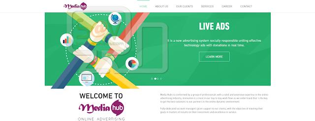 Media Hub pop-ups