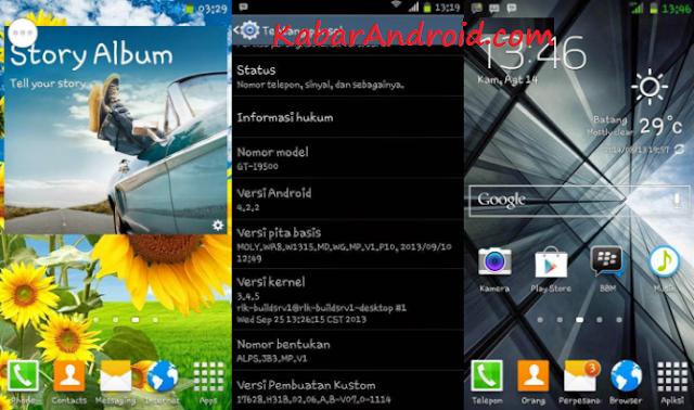 Custom Rom Samsung S5 For Advan S5E Dan S5E PRO