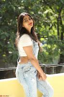 Neha Deshpande in Spicy Denim Jumpsuit and Whtie Crop Top March 2017 094.JPG