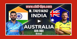 Australia Tour of India Match Prediction Tips by Experts AUS vs IND 4th ODI 2019