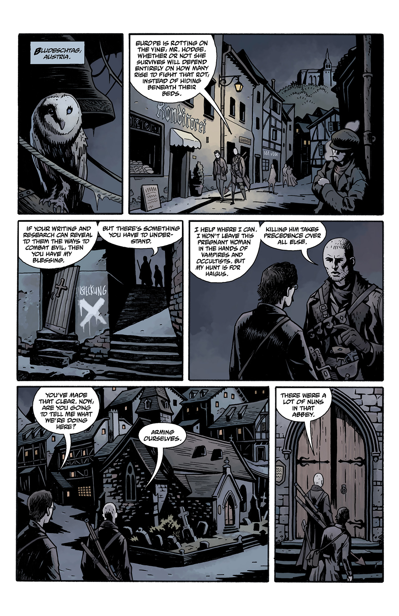 Read online Baltimore: The Curse Bells comic -  Issue #2 - 18