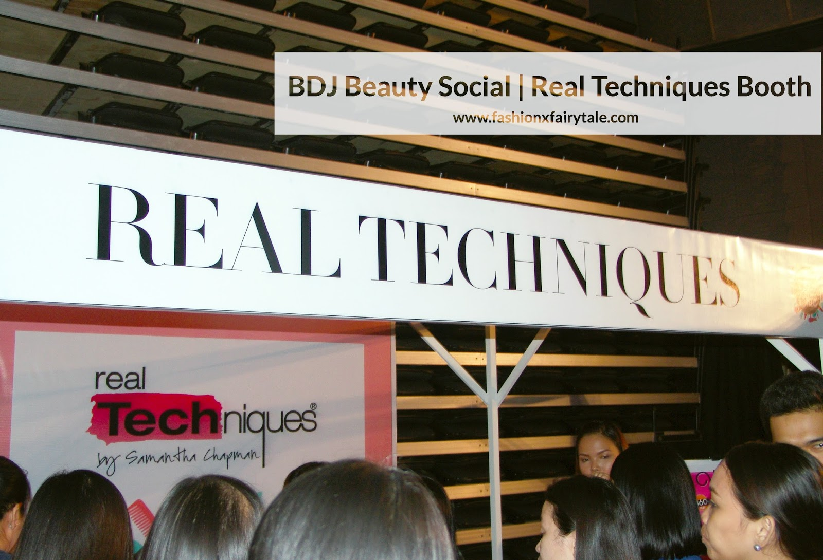 BDJ Beauty Social | Real Techniques & Ellana Minerals Booth