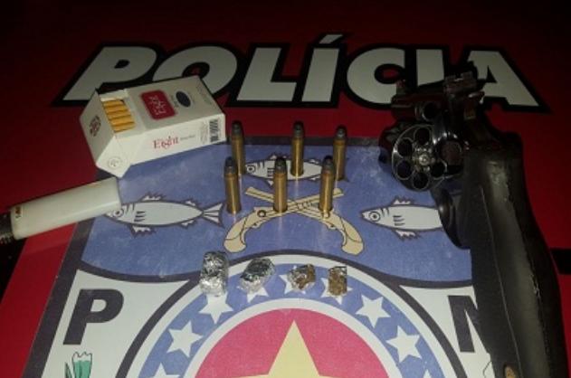 Em Olivença/AL, homem é preso com  arma de fogo na AL-125