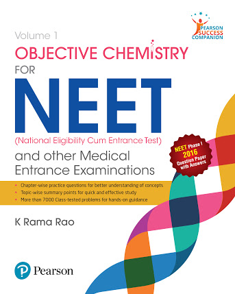 OBJECTIVE CHEMISTRY VOLUME-1 FOR ENGINEERING AND MEDICAL ENTRANCE EXAMINATIONS BY K RAMA RAO