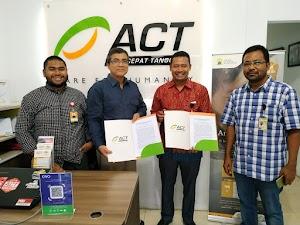 Assayyidi Travel dan Grab Tandatangani MoU dengan ACT Aceh