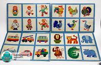 Лото Игрушки автор Е. Турган Производственное объединение Парус, 1984 и 1986 годы