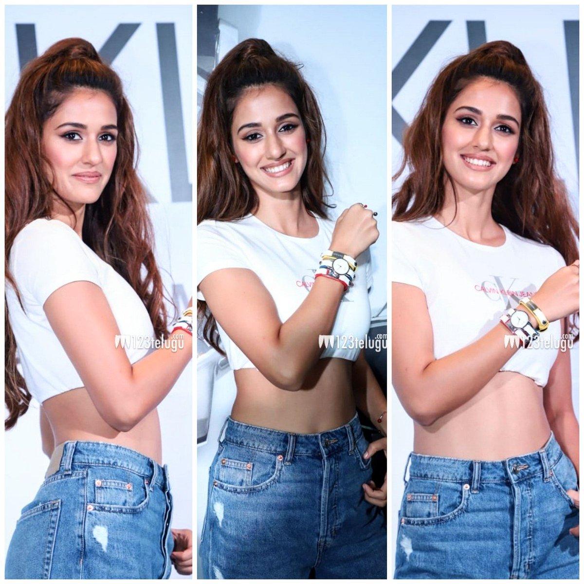 Disha Patani Looks Hot in Denim Jeans
