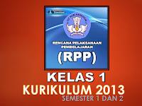 Perlengkapan Administrasi Kelas 1 Kurikulum 2013 Semester 1 dan 2