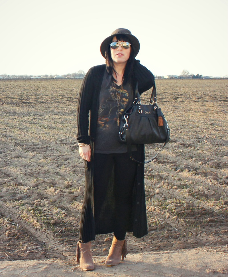 This ENTIRE outfit (including the Coach purse!) was thrifted for just $51! This post has the whole outfit, details and breaks down the price. Crazy!