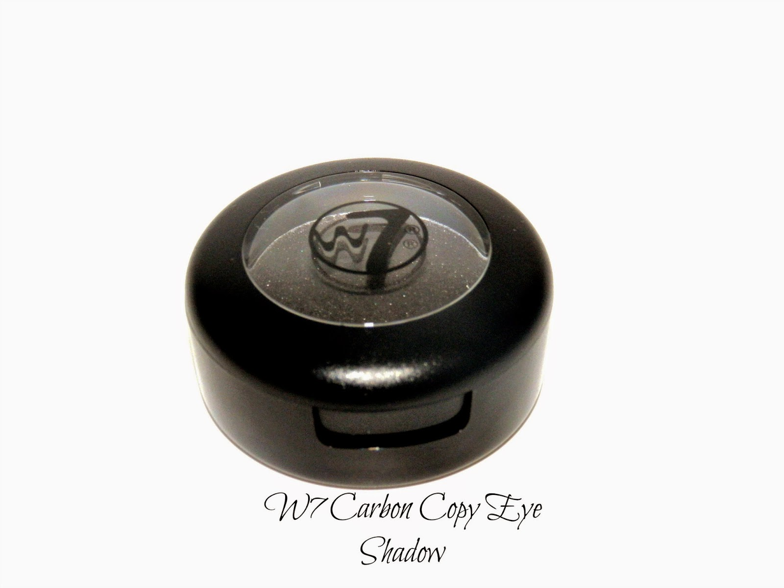 W7 Carbon Copy Eye Shadow Swatches