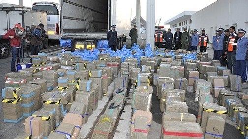 Saisie de 6 tonnes de chira près d'Agadir