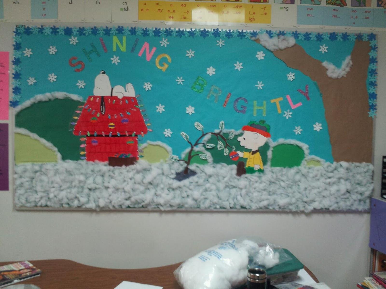 Adventures In Teaching December Bulletin Board