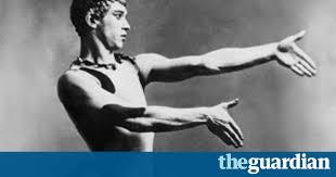Russian dancer Vaslav Nijinsky L'Apres Midi