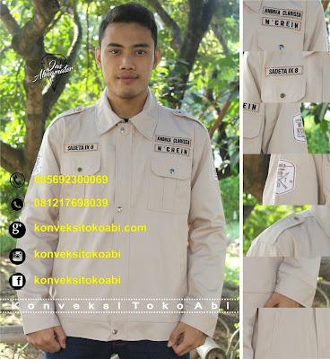 pesan jaket almamater angkatan