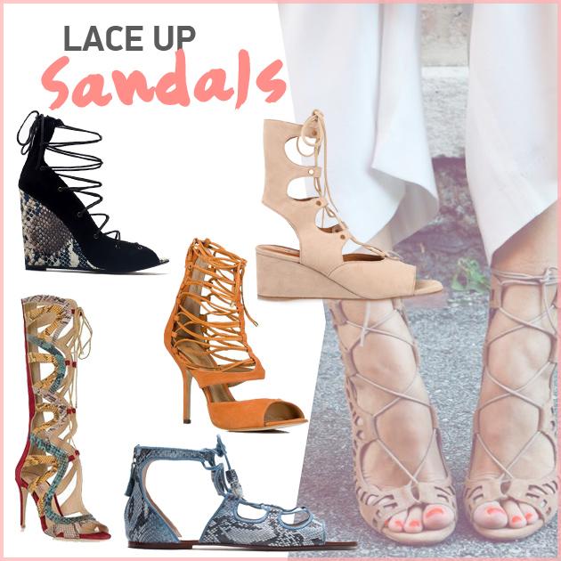 d240f5c5424 Κατά τη διάρκεια των τελευταίων σεζόν, τα lace up παπούτσια, αυτά δηλαδή με  τα κορδόνια, έκαναν δειλά δειλά την εμφάνισή τους και φέτος ήρθαν για να  κάνουν ...