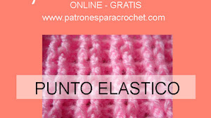 Cómo tejer punto elástico al crochet / Aprende crochet