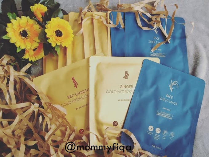 Review:My Beauty masks