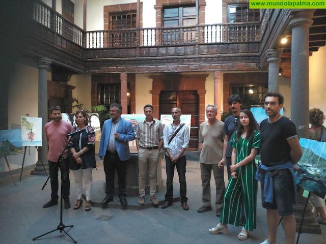 Miguel Ángel Brito, Alexej Dvorak y José Manuel Tabares, ganadores del concurso de pintura rápida 'Francisco Concepción'