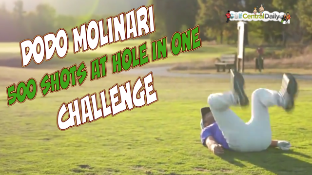 Edoardo Molinari Hole In One Challenge