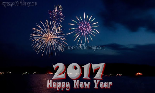 Happy New Year 2017 Full HD Fireworks Images Download