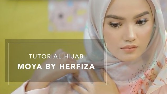 Tutorial Hijab Simple Moya by Herfiza