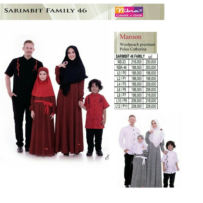 SARIMBIT KELUARGA TERBARU NIBRAS FAMILY 46