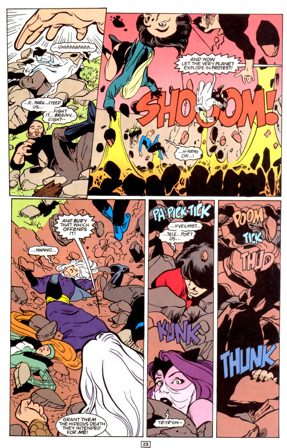 Legion of Super-Heroes (1989) 47 Page 23