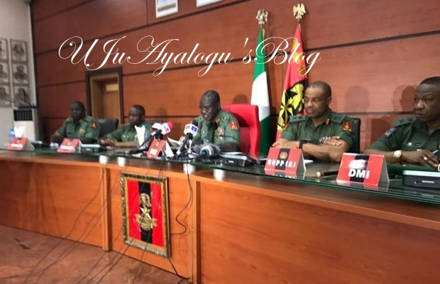 Nigerian army undergoes shake-up, new commanders appointed [FULL LIST]