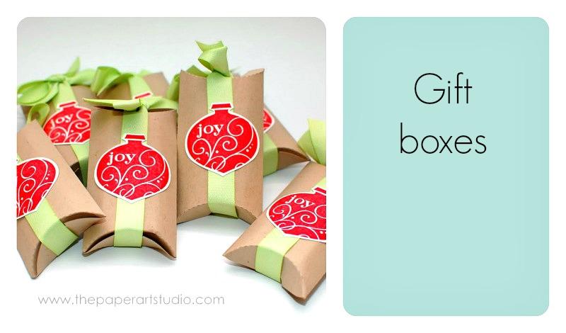 pudełka z papieru diy