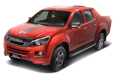 Isuzu D-Max X-Series orrange wallpaper