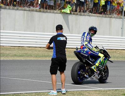 Rossi Tak Terima Lorenzo Sebut Manuvernya Kotor