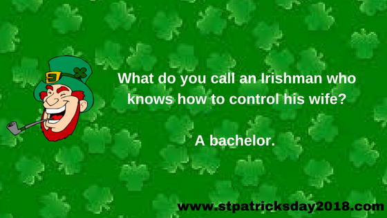 Happy St Patricks Day 2018 Jokes