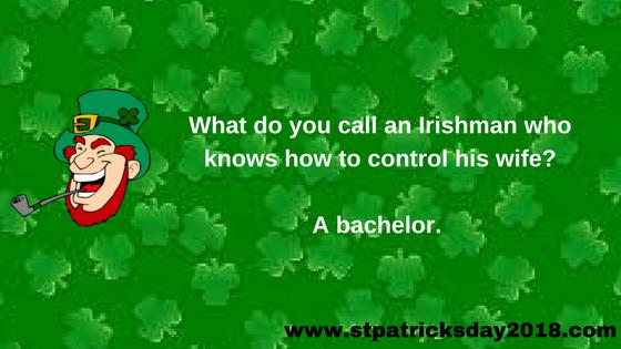 Happy St Patricks Day 2018 Jokes