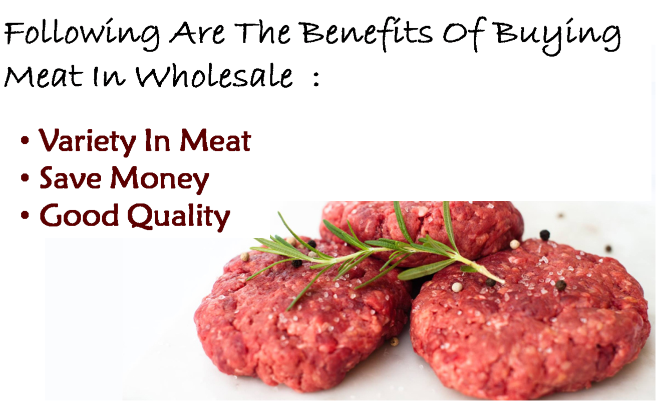 Benefits of buying meat in wholesale