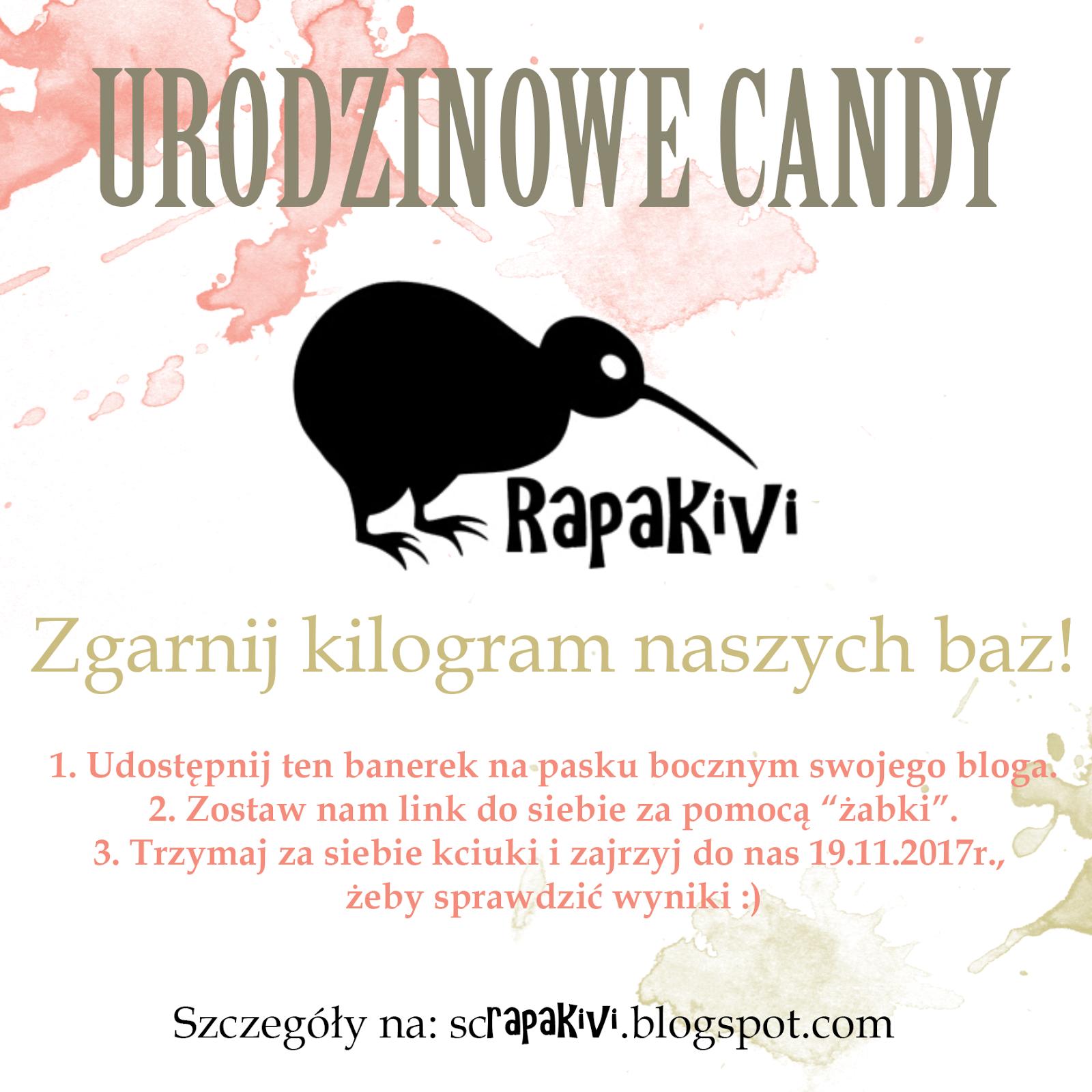 Urodzinowe CANDY Rapakivi