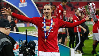 Zlatan Ibrahimovic Resmi Tinggalkan Manchester United