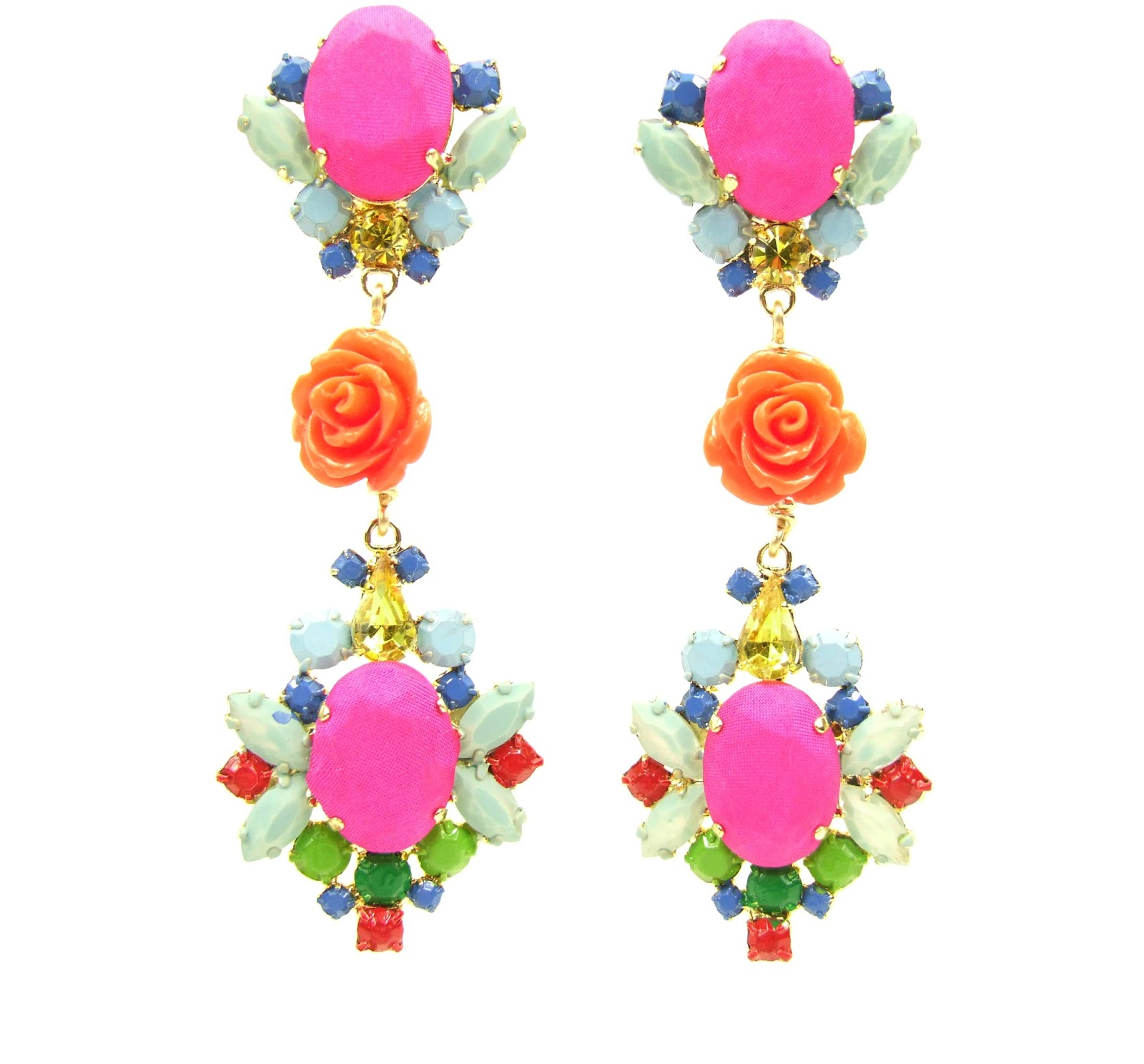 in trend earrings designs for girls