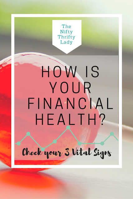 Checking in on your Financial Health